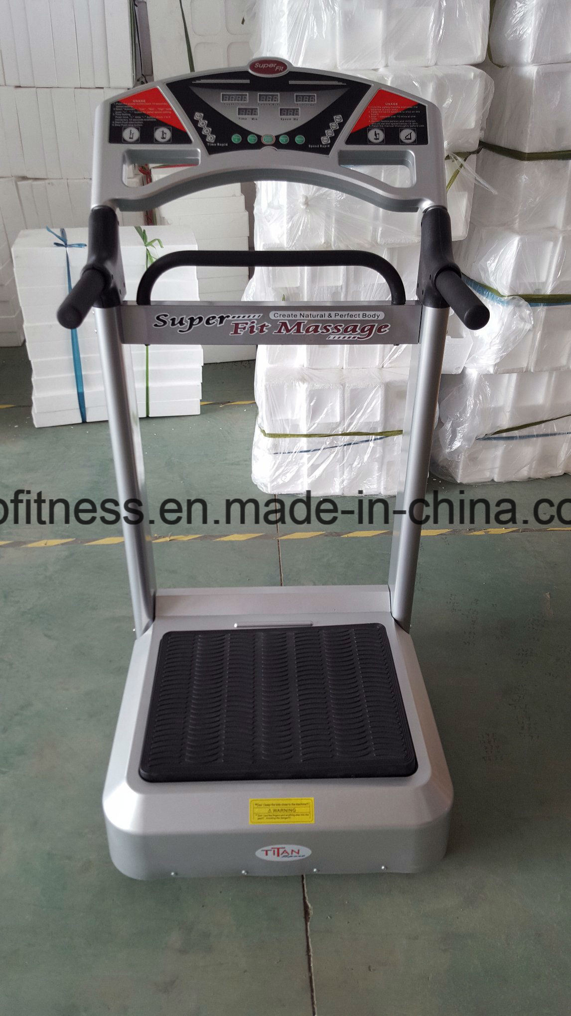 Whole Body Vibration Machine Crazy Fitness Machine Crazy Fit Massager