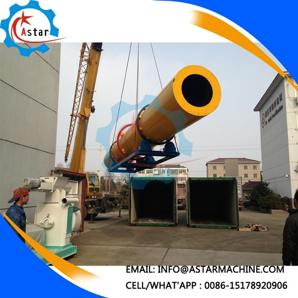 Large Capacity Sawdust Dryer Rotary Kiln