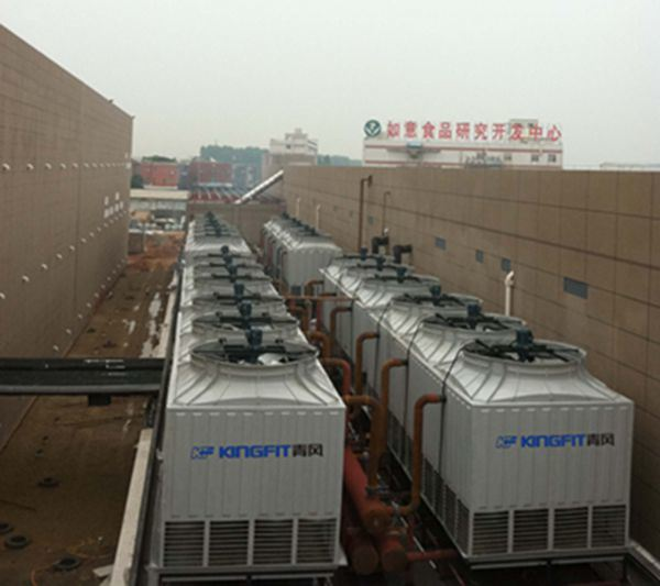 Counter-Flow Square Water Cooling Tower for Plastic Injection