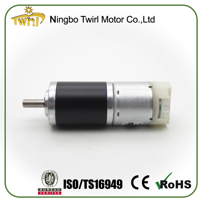 Motor Supplier in China 32mm Small Electric Gearmotor with Reduction Gear