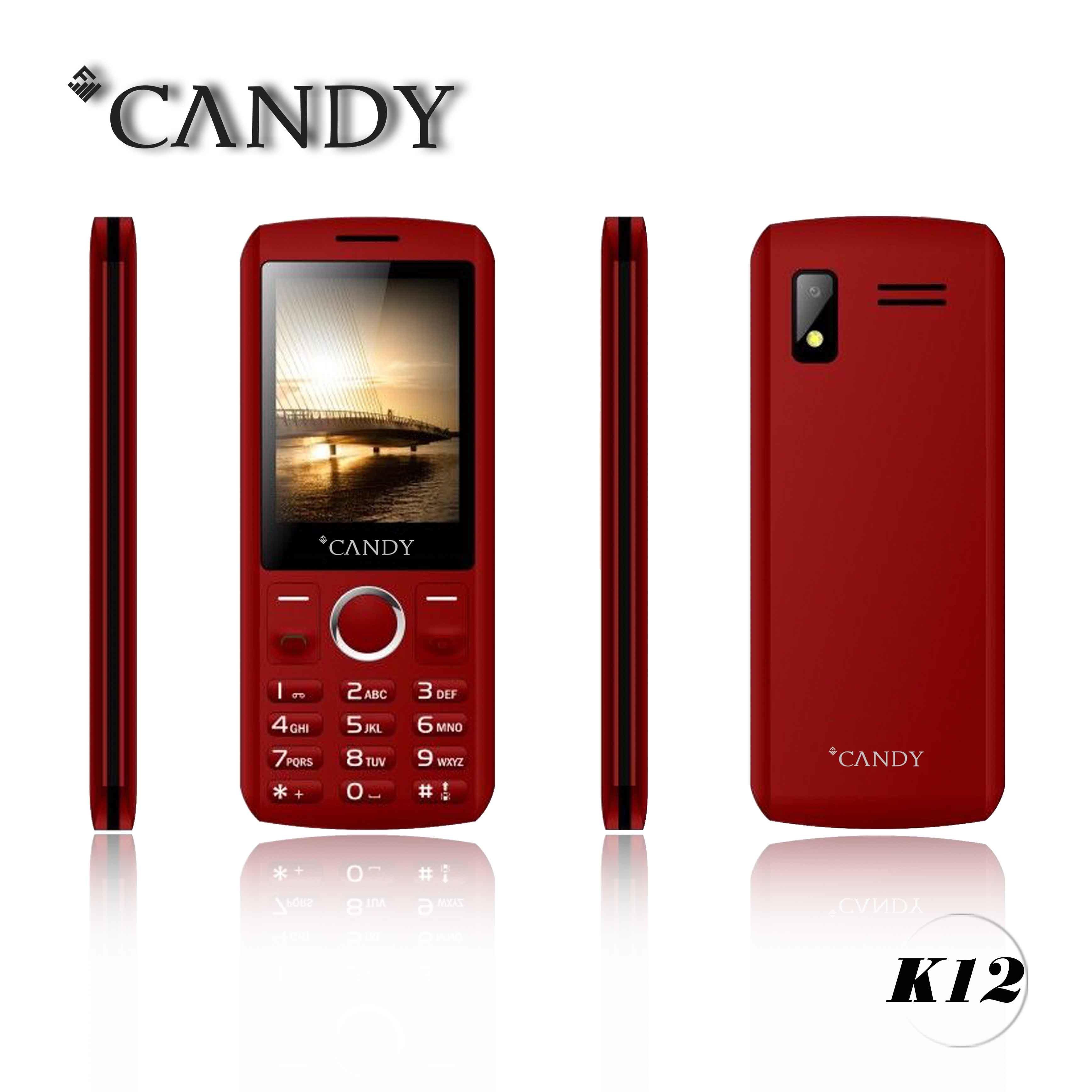 New Fashion Slim Design 2g Feature Phone