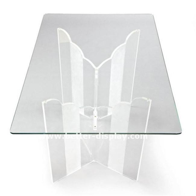 Custom Clear Acrylic Chinese Tea Table (BTR-Q1012)