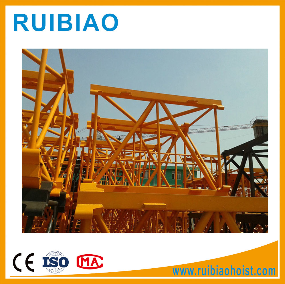 Double Slewing Mechanism Tower Crane Price L68A1 Mast Section