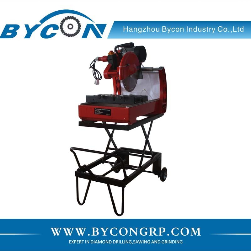 DTS-350S Electric mobile Stone Saw Cutting Machine Saw