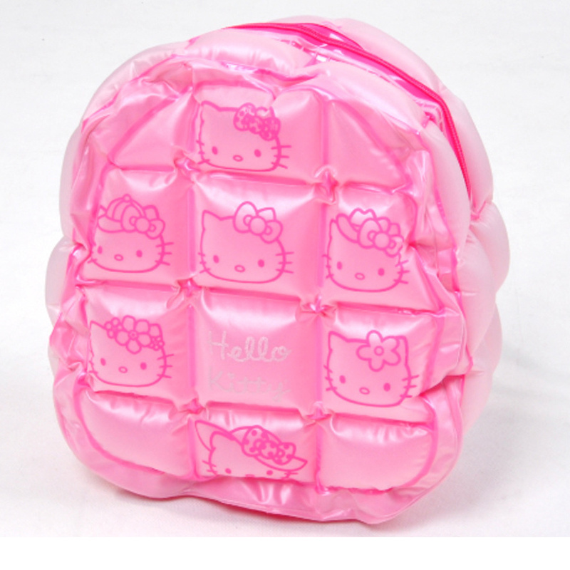 Pink Cat PVC Inflatable Bubble Backpack