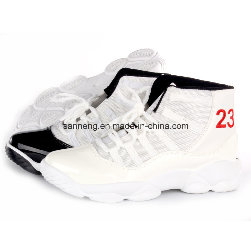 Men Sports Shoes with PVC Injected Outsole (SNC-52020)