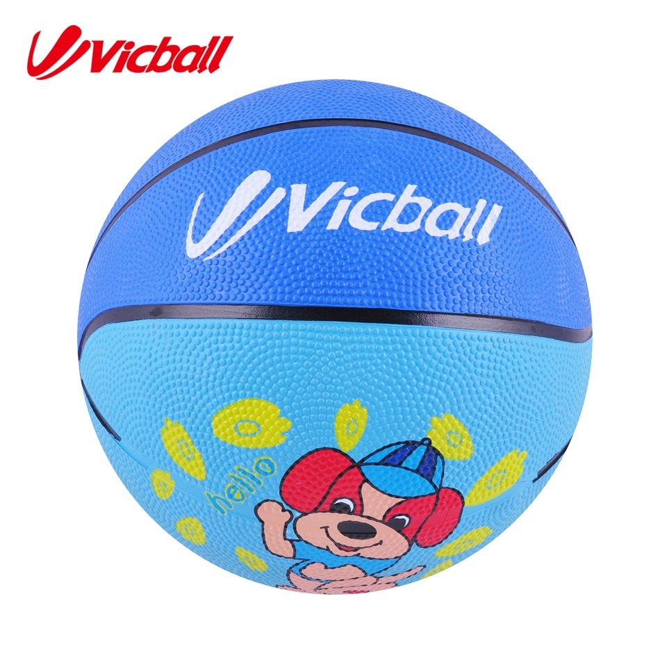 Small Colorful Rubber Basketball for Children