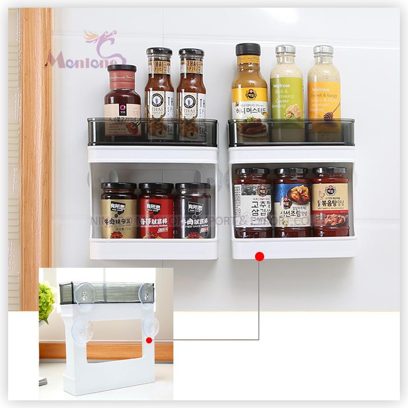 Plastic Kitchen Storage Spice Organizer Spice Rack