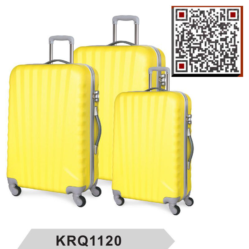 Factory Direct ABS 3PCS Hardside Luggage Wholesale