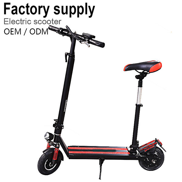Mini Personal Transport Green Travelling Lithium Battery Folded Scooter
