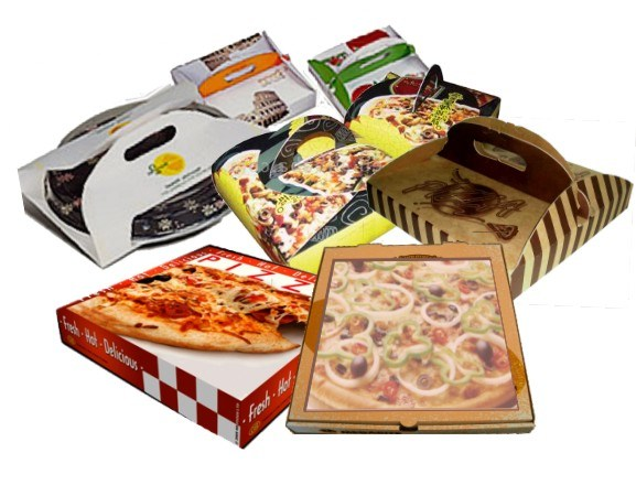 Wholesale Colorful Printing Corrugated Paper Cardbaord Pizza Boxes