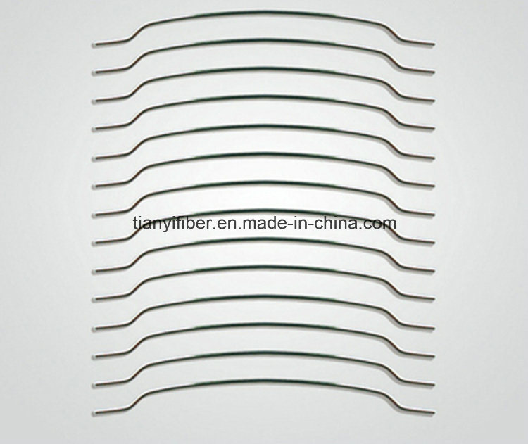 Hooked Steel Fiber Concrete Reinforcement From 1100 to 2850 MPa