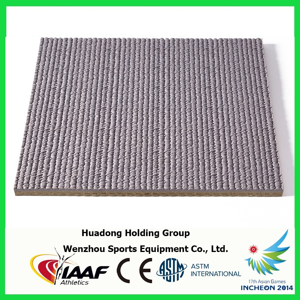 Synthetic Outdoor Rubber Athletic Track Material Rubber Flooring