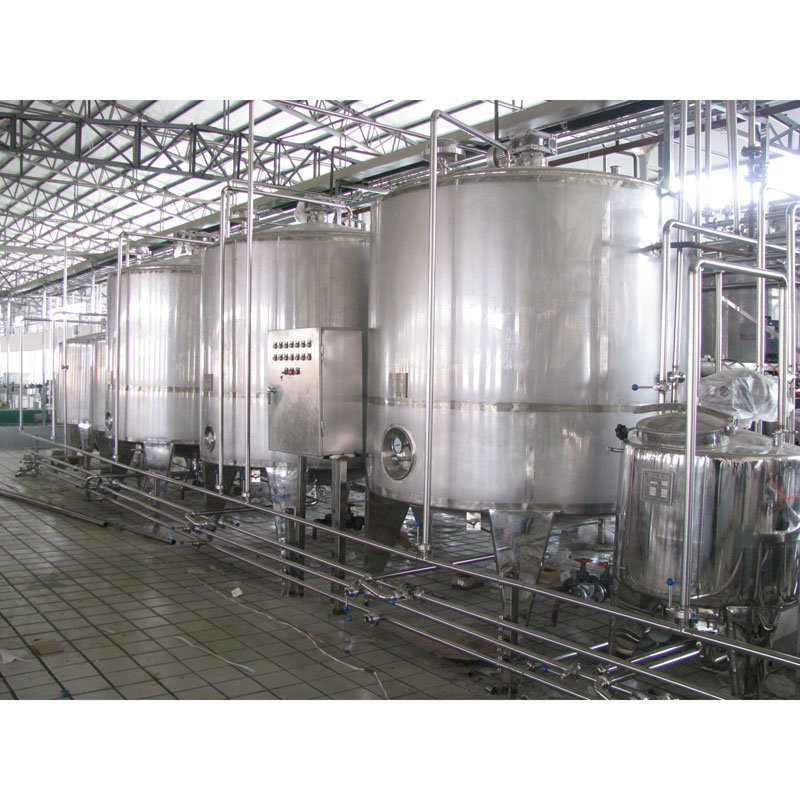 Full Automatic 3000L/H Drinking Yogurt Processing Plant