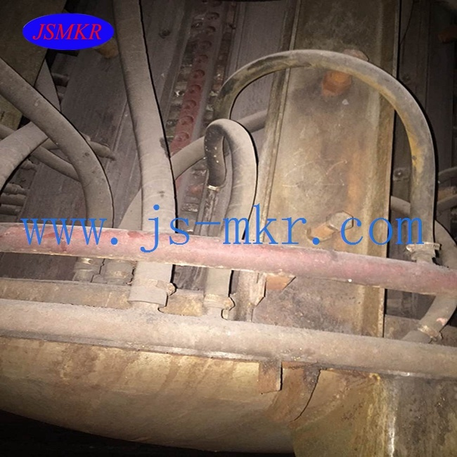 Used Steel Medium Frequency Smelting Furnace