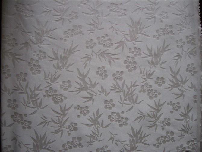 Silk Satin Jacquard Fabric