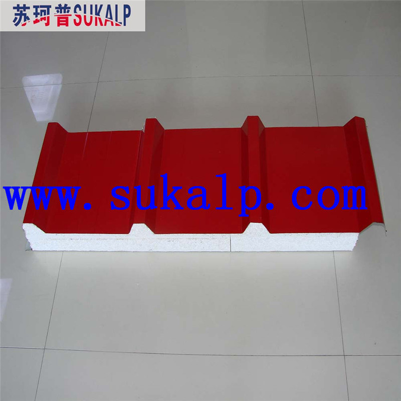 EPS Sandwich Wall Panel Steel The Prefab House