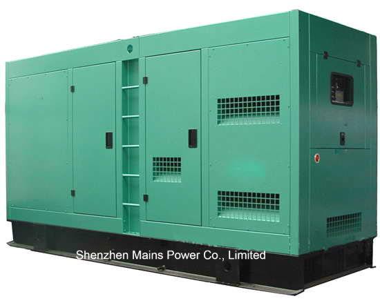 375kVA 300kw Cummins Silent Diesel Generator, 410kVA 330kw Genset