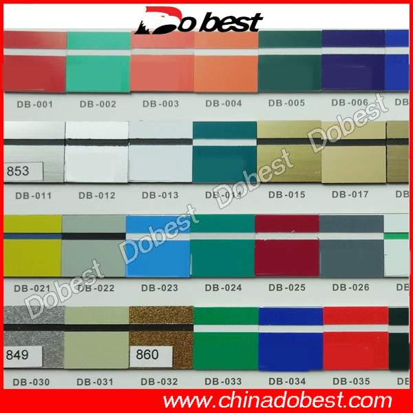 ABS Double Color Sheet for Laser Engraving
