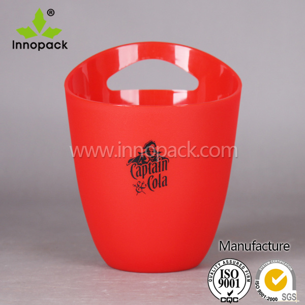 Walmart Large Round Transparent Plastic Acrylic Wine Ice Bucket Wholesale