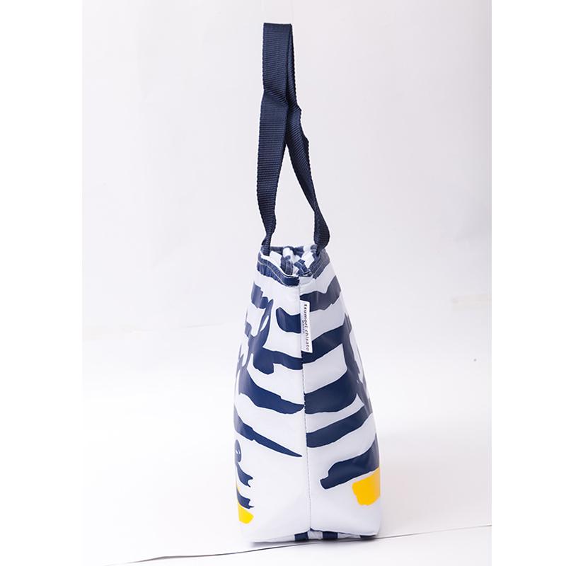 Women Fashion Folding Cotton Shopping Bags Travel Grocery Bags Ladies Tote Handbags Wholesale Reusable Shopping Bag Female