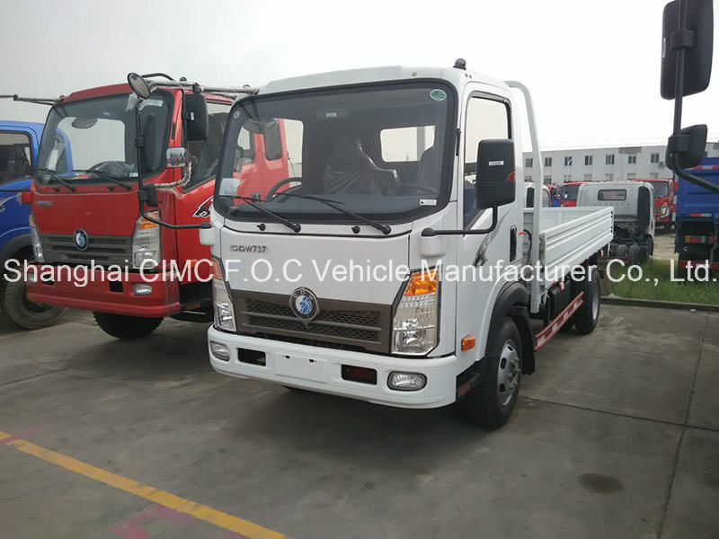 Sinotruk Cdw 3-5ton Small Cargo Truck with Isuzu Engine