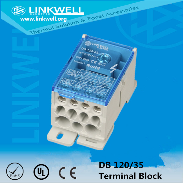 85AMP Cable Connector Distribution Terminal Block with Ce Certificate (LK 80A)