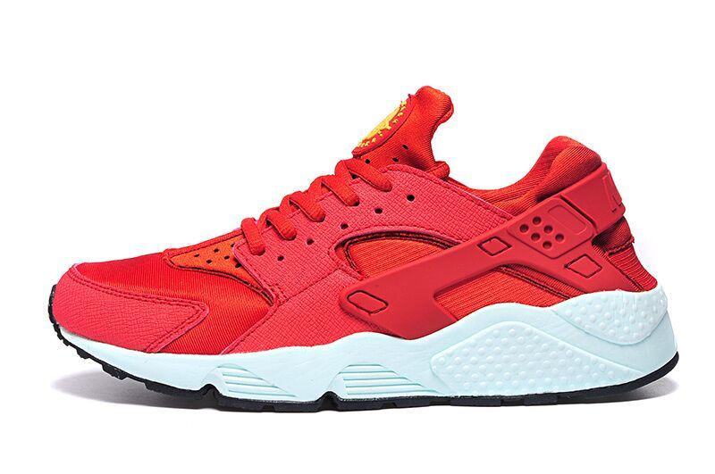 Three Color Mesh and Leather Sport Shoes (SP-018)