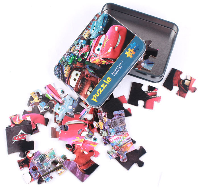 Wholesale Custom Cartoon Paper Jigsaw Puzzle with Cheaper Price
