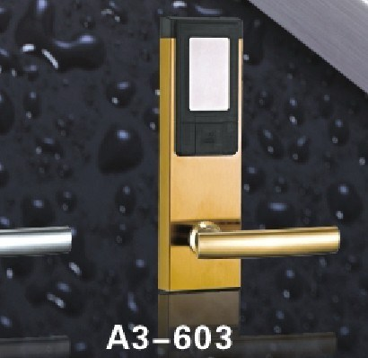 High Quality SUS304 Hotel RF Card Lock with LED and Sound