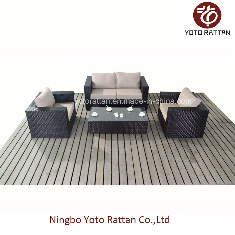 Outdoor Rattan Loveseat with Different Color (1105)