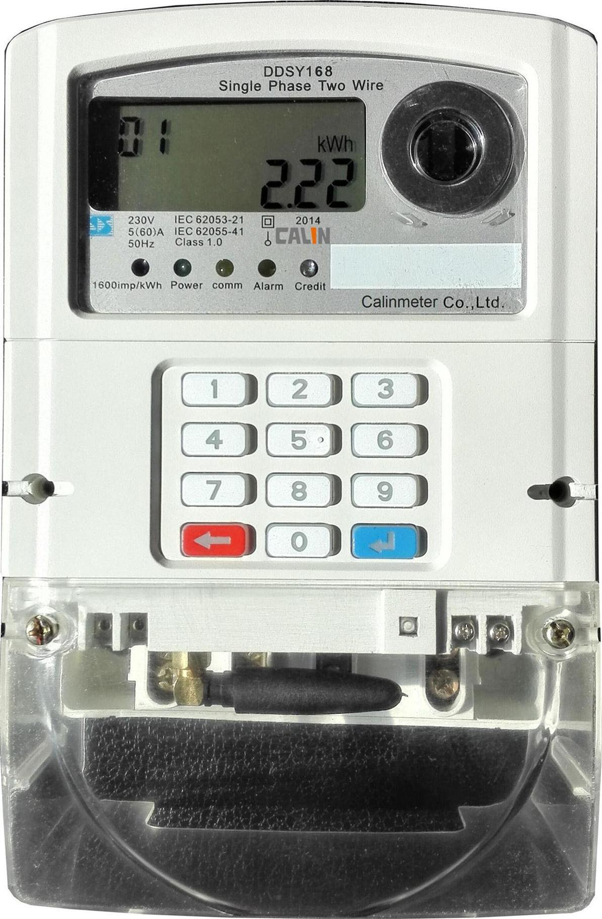 Three Phase Keypad GPRS Prepaid/Prepayment Energy Meter