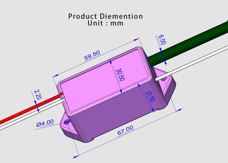DC 3.6V Input Gas Oven Flame Lighter