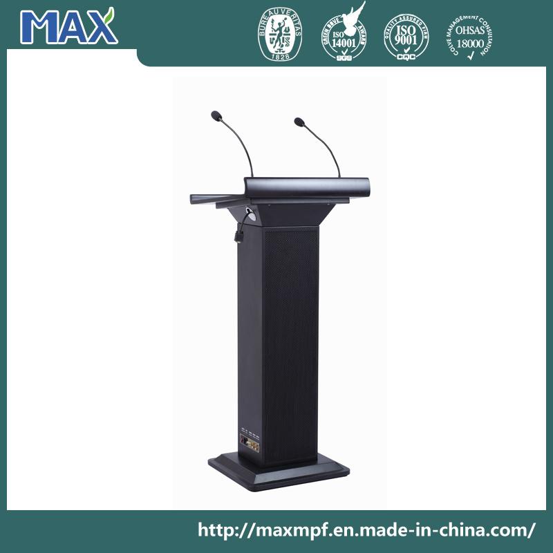 Profession Sound System Metal Multimedia Digital Modern Microphone Speech Podium Designs