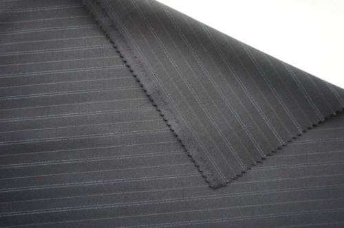 Stripe Pure Wool Fabric for Suit Worested
