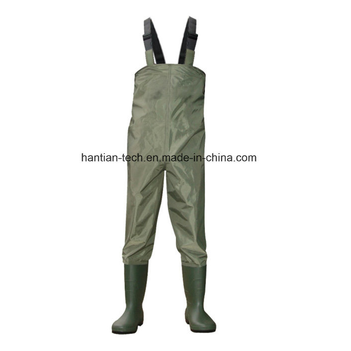 Nylon Material PVC Boots Fishing Tackle Wet Suit
