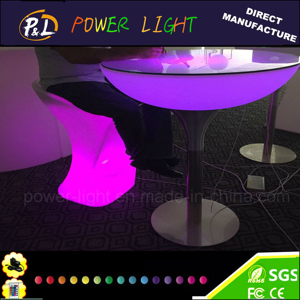 Glow Furniture China Led Banquet Table Glow Furniture Outdoor Led Round Table