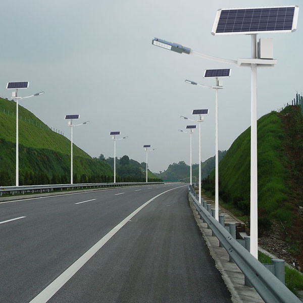 24W Outdoor LED Solar Street Light with CE, CCC, RoHS Approval