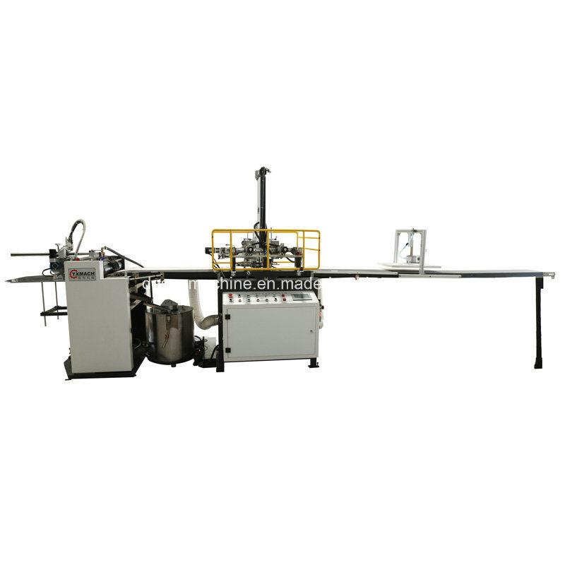 Yx-6418c Automatic Feeding, Gluing & Positioning Machine