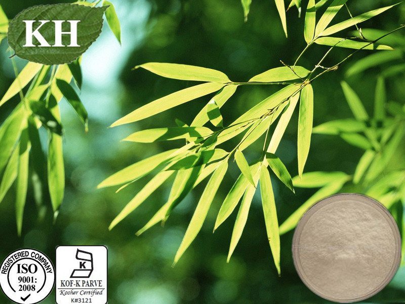 Natural Plant Organic Silica 70% Bamboo Leaf Extract