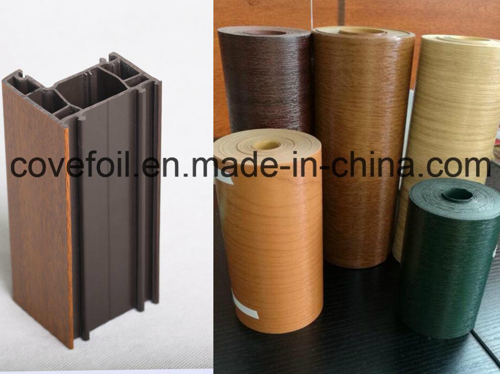 Anti-UV Exterior Use Plastic/ Lamianting PVC Film/Foil for Window Profiles/ Panels/ PVC Sheet