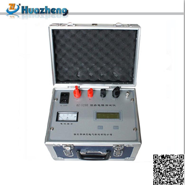 Latest Price Intelligent 100A Circuit Breaker Loop Resistance Tester