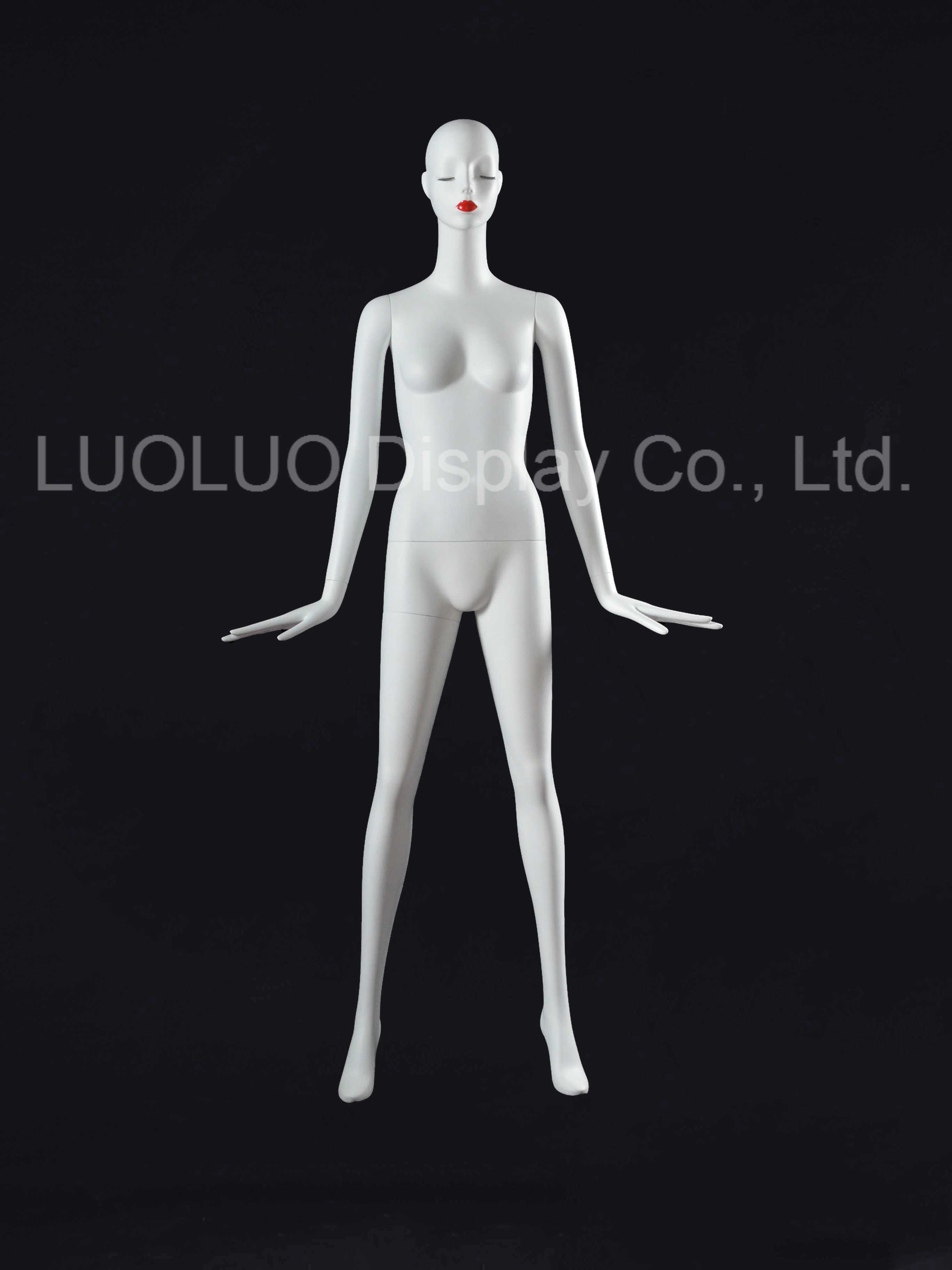 Origin Factory Design Female Mannequin with Wear Makeup