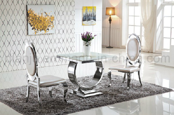 Hotel Furniture Stainless Steel Modern Banquet Dining Chair (D886)