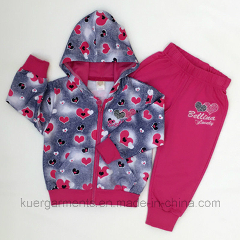 Fashion New Style Girl Suit in Kids Clothes