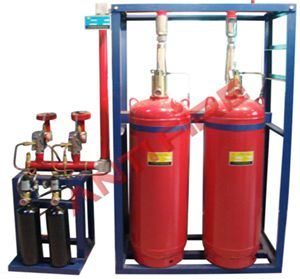 Hfc-227ea Gas Fire Extinguisher System (FM200)