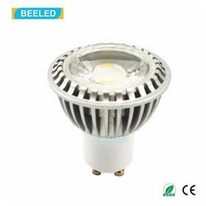Ce Rhos GU10 3W COB Cool White LED Spot Lamp LED Bulb
