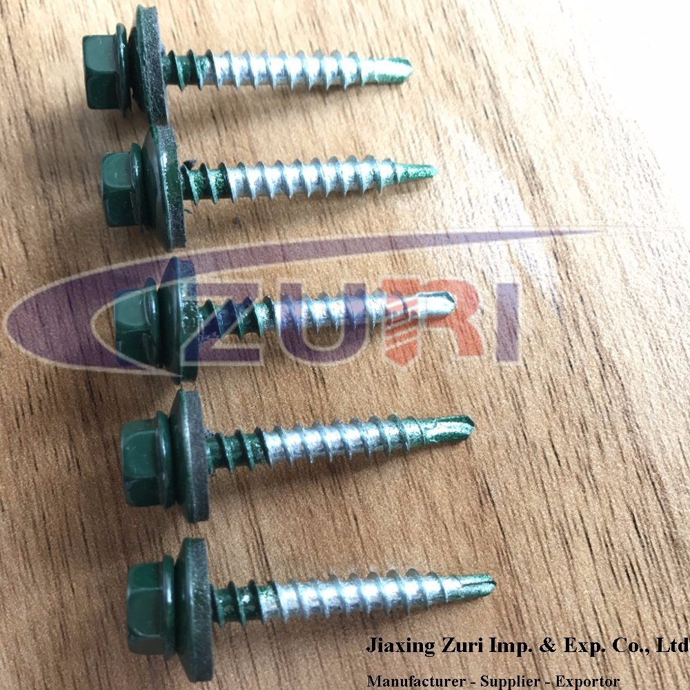 Roofing Screw 4.8X35 Ral 6005