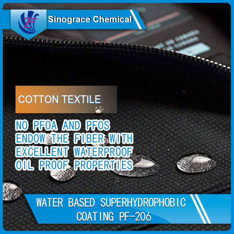 Transparent Fabric Water Repellent PF-206