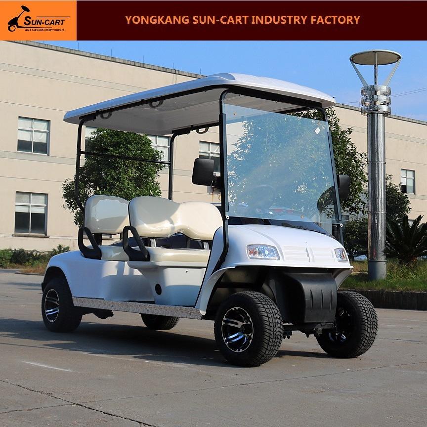4 Passenger Electric Hotel Golf Cart